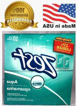 ZEST  5oz Aqua Aguamarina FAMILY SIZE BAR SOAP REFRESHING 25