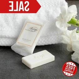 0.4 oz. Hotel & Motel Wrapped White Travel Size Face and Bo