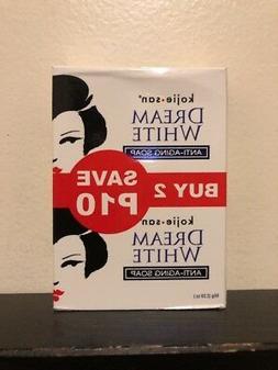 2x 65g Kojie San DREAM WHITE Skin Whitening Anti-Aging Kojic