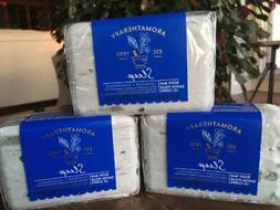 3 Lg Aromatherapy Sleep BODY BAR SOAP Lavender & Cedarwood B