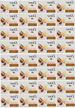 32 BARS DOVE PURELY PAMPERING SHEA BUTTER BEAUTY VANILLA SCE