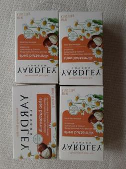 4 bar count of Yardley Moisturizing Soap Bath Bar English La