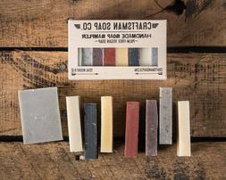 Natural Bar Soap Sampler Handmade Vegan Palm-Free Scented Es