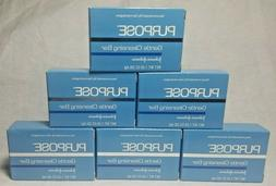 6 x Purpose Gentle Cleansing Bar Oil Free Soap Travel 1.25 o