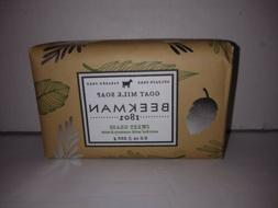 Beekman 9 Oz Goat Milk Soap Sweet Grass Rosemary Mint New