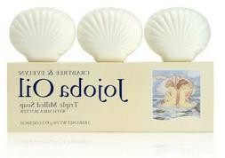 Crabtree & Evelyn Triple Milled Soap Set, Jojoba Oil