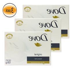 Dove Bar Soap Original White 135G 4.7OZ, Body Clean, Save Bi