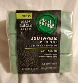 Irish Spring Signature Body + Face Bar Soap - Hydrating For