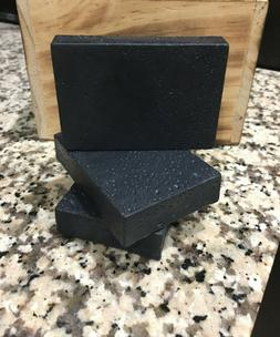 activated charcoal and tea tree soap bar