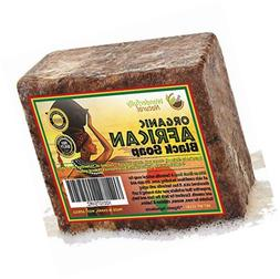 African Black Soap 1 Pound Bar | #1 Acne Treatment | Eczema