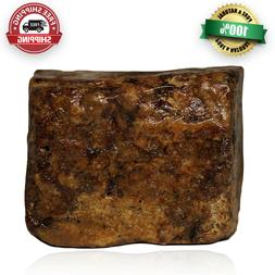 African Black Soap Bar 8 oz Raw 100% Unrefined Pure Natural