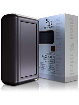 ArtNaturals African Black Soap Bar -  - Pure and Natural Acn