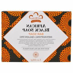 Nubian Heritage AFRICAN BLACK SOAP with Oats Aloe Vitamin E