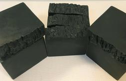 Handmade All Natural Healthy Soaps- Charcoal Bentonite Scrub