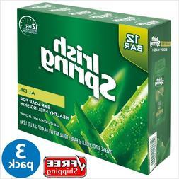 Irish Spring ® Aloe Vera Bar Soap 3.7 oz - 12 Bar x 3 PACK
