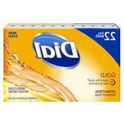 Dial Antibacterial Deodorant Soap, Gold - Long Lasting Prote