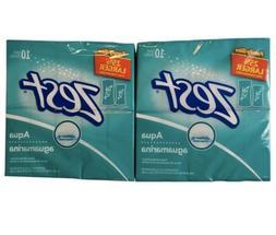 Zest Aqua Aguamarina Family Size Bar Soap 5 oz x 20 Bars