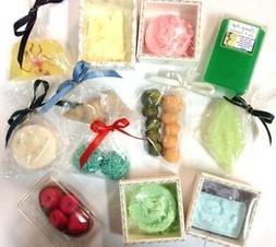 ARTISAN SOAP ART BODY BARS,4 x Hand Crafted No:Palm Oil, SLS