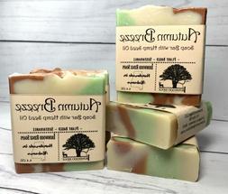 HANDMADE SOAP w/ HEMP SEED OIL, Unisex Scent, Vegan, Natural
