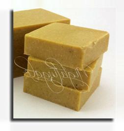 Banana Coconut Scrub Natural Soap 1 Lg Bar Organic Shea Butt