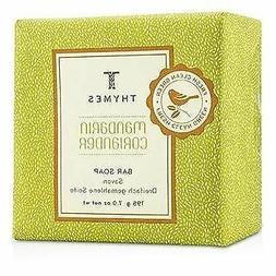 Thymes Mandarin Coriander Moisturizing Bar Soap, 7 Ounces