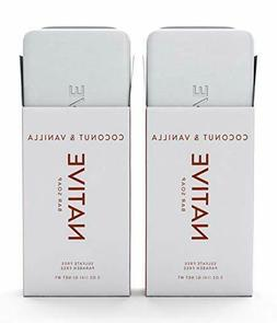 NATIVE Bar Soap - Coconut & Vanilla Net. Wt. 5oz - 2-PACK