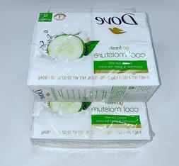 Dove Bar Soap Cucumber Green Tea Scent Beauty Cool Moisture