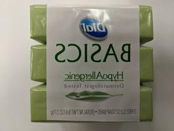 Dial Basics Pack  Hypoallergenic Dermatologist Tested Soap