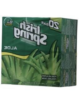 bran new Irish Spring Aloe Bar Soap 3.75 Oz- pack of 20 Bars