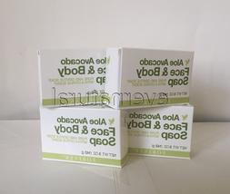 Bulk of 4 Avocado Face & Body Soap  by Forever Living