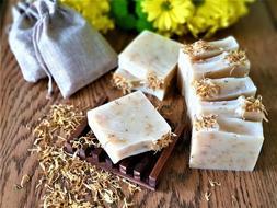 Calendula Soap Bar Natural Eczema Soap Handmade Sensitive Sk