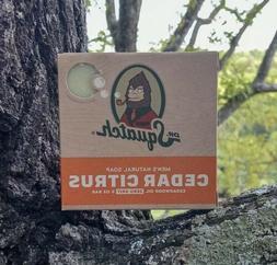 Cedar Citrus Soap by Dr. Squatch - Men's Natural Exfoliating