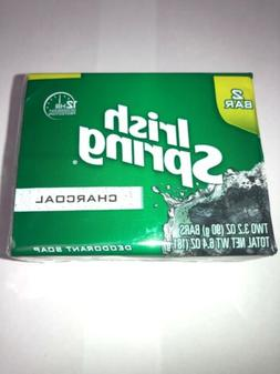 Irish Spring Charcoal Deodorant Soap Pack  12 Hour Protectio