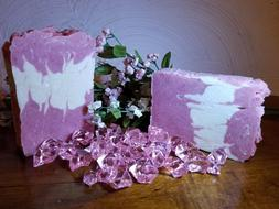 Chemical free, Organic Handmade Soap Bar with added fats to