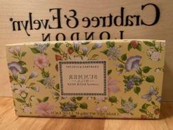 Crabtree & Evelyn Summer Hill Soap Set 3 Bars 3.5 oz