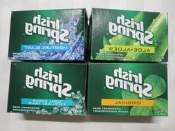 IRISH SPRING Deodorant Soap Bar 90g  Lot of 4