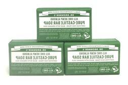 Dr Bronner's All-One Hemp Almond Pure Castile Bar Soap w/