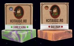 Dr Squatch Soap Bar - Area 51 Bricc and New Mars Bar Galaxy