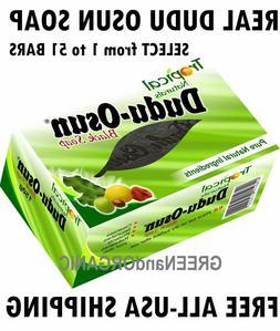 DUDU OSUN African BLACK SOAP Natural Herbal RAW 1 2 3 4 6 8