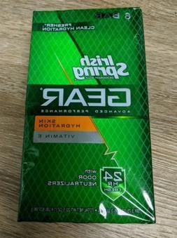 Irish Spring Gear Hydration Deodorant Bath Bar, 3.75 Ounce,