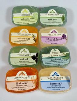 Clearly Natural Glycerin Soap Bar Choose 2 Pack 4 Oz  Aloe V