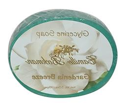 Camille Beckman Glycerine Bar Soap, Gardenia Breeze, 3.5 oz