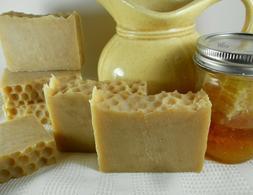 Goat Milk, Oatmeal and Honey Soap Natural Organic Handmade H