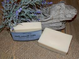 Homemade Goat's Milk Soap -Lavender