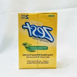Zest Gold Deodorant 100% Natural DeoPure Eco Safe Triclosan-