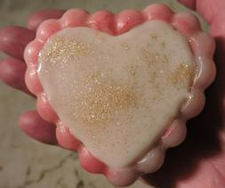Heart-Shaped Goat's Milk Soap w/Gift Box, Handmade by Me, Un