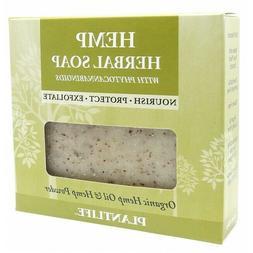 Plantlife Hemp Herbal Soap, 4.5oz, 100% Natural - Made in US