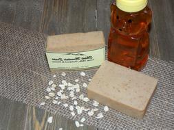Homemade Oatmeal & Honey Goat's Milk Soap