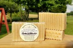 """Honey Bee Calendula"" Goats Milk Soap - Hand Crafted Cold Pr"