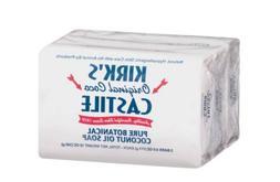 Kirk's Original Coco Castile Natural Bar Soap Pure Botanical